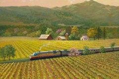 Napa Wine Train #1 12x16