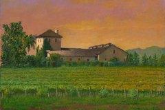 Napa V. Sattui Winery 11x14