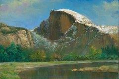 Yosemite Half Dome 11x14
