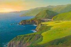 Big Sur Overlook 16x24.5