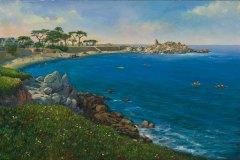 Lover's Pont Monterey 16x24.5