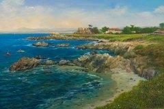 Monterey Bay 18x27.25