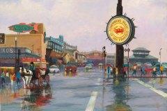 Fisherman's Wharf After the Rain 8x10