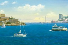 San Francisco Old Blue and Alc 8x20