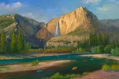Yosemite Falls 16x24.5