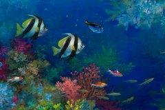 Tropical Fish #4 10.13x20