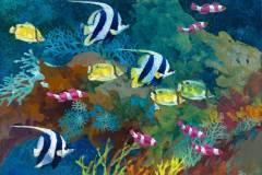 Tropical Fish #1 11x14