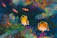 Tropical Fish #2 9x12
