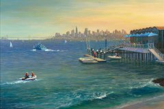 San Francisco Skyline 16x20