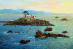 Battery Point Lighthouse Crescent City CA 16X24